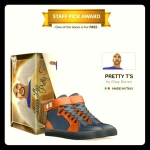 PRETTY T's: BASKETBALL HIGH TOP